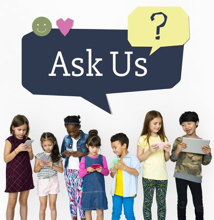 faq's: Ask Us Assistance Support Concept Stock Photo