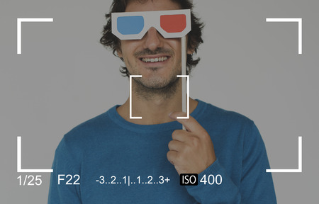 Kamera Sucher Capture Schnappschuss Vektor-Illustration Grafik Standard-Bild - 81766903