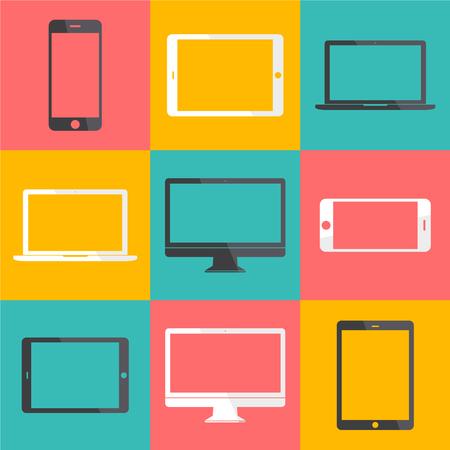 Technology Digital Device Icon Vector Concept  イラスト・ベクター素材
