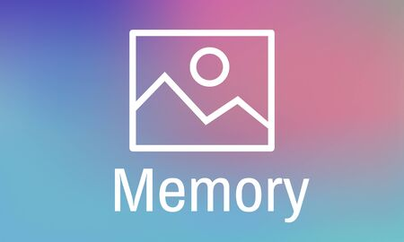 Memory Data Mind Remember Recalling Stock fotó - 81886307