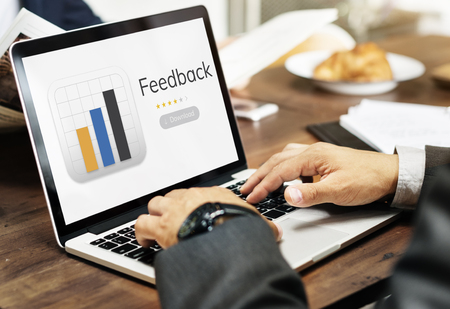 evaluate: Illustration of application user feedback response