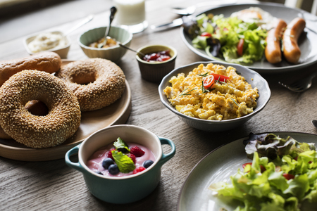 Healthy Breakfast Food Meal Dishes Gourmet