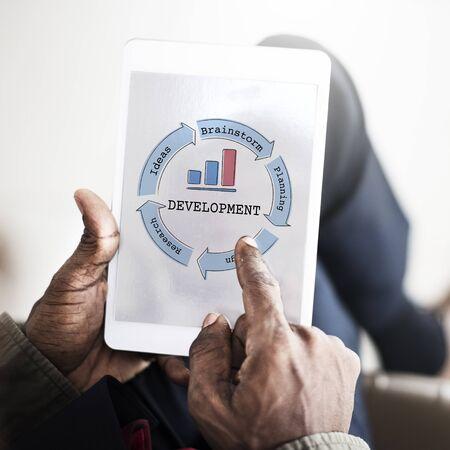 Business Venture Succes Diagram Concept