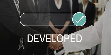 Ontwikkeld, gegarandeerd gecertificieerd bewijs geverifieerd