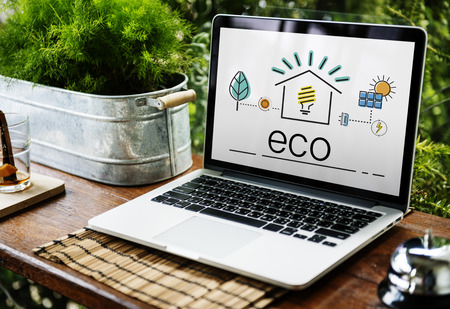eco notice: Environment Sustainability Eco Friendly Concept