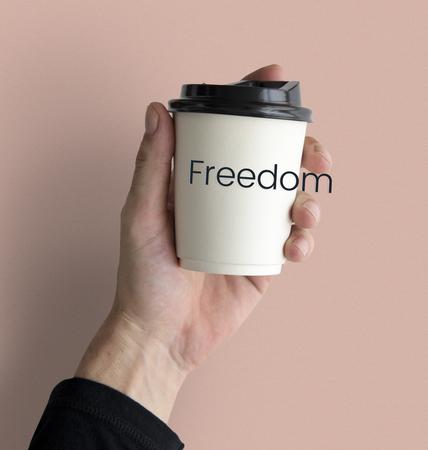 Positivity Freedom Break Time Word Фото со стока