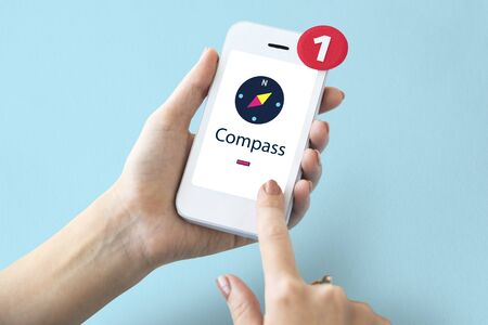 guise: Compass Navigation Location Direction Graphic
