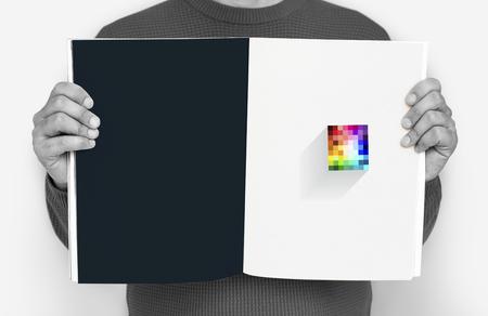 Art Design Creative Colorful Graphic Reklamní fotografie