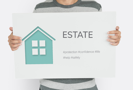 Home Insurance Coverage Estate Residential Stock Photo