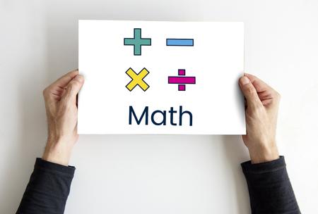 Math Formula Calculation Education Graphic Reklamní fotografie