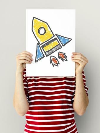 Rocket space ship goal launch startup success