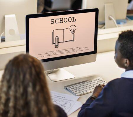 Istruzione Learning Academy Scuola Concetto Archivio Fotografico - 82048894