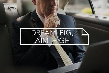 Droom Big Aspiration Inspiration Motivation Vision