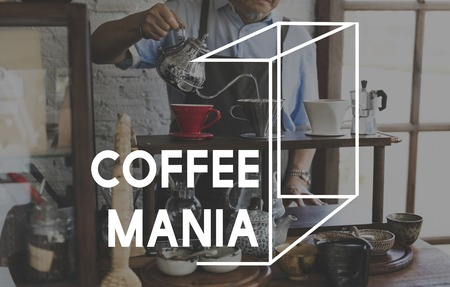 Coffee Mania Love Lifestyle Woordafbeelding
