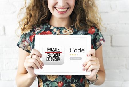 QR 빠른 응답 코드 응용 프로그램의 예