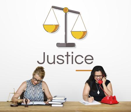 正義の判断尺度の図