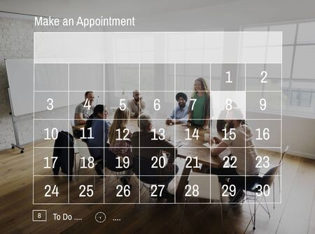 style advice: Calendar Agenda Appointment Banner Graphic