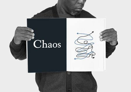 perplex: Depressed Complicated Chaos Critical Situation Word Graphic