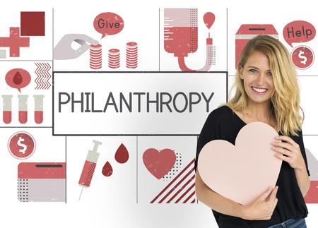 Love Kindness Help Concept de bien-être Banque d'images - 81966884