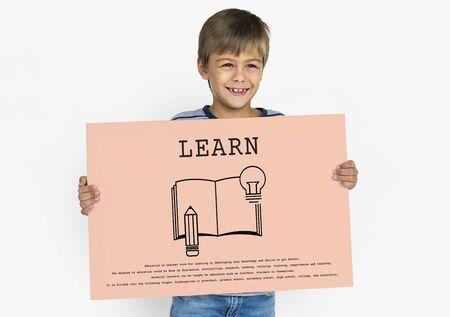 Concetto della scuola di apprendimento dell'educazione di formazione Archivio Fotografico - 81968955