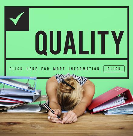 Original Premium Guaranteed Quality Banner Graphic Stock Photo