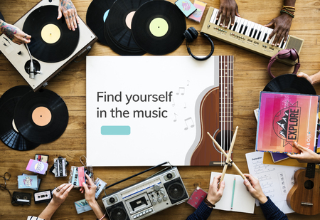 Music concept community together