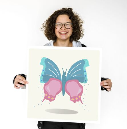 entomology: Nature Biology Insects Butterfly Illustration Concept