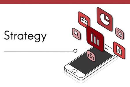 優先順位の評価戦略評価アイコン