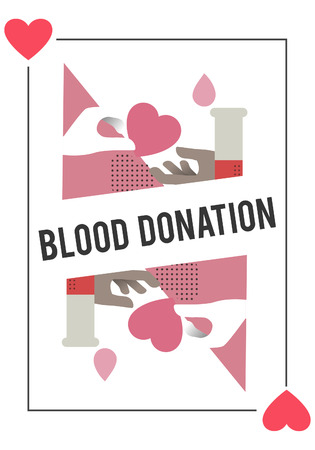 Blood Donation Save Life Concept 版權商用圖片
