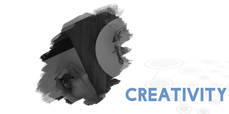 Idée de créativité Concept de pensée créative Banque d'images - 81967474