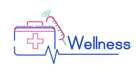 First Aid Box Healthcare Treatment Graphic Banco de Imagens