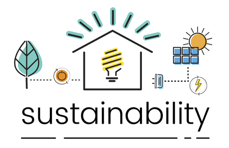 Milieu Duurzaamheid Eco Friendly Concept Stockfoto