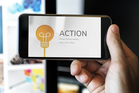 Action Active Inspiration Motivate Process Stock Photo