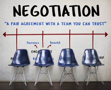 Agreement Commitment Negotiation Contract Deal Stock Photo - 82050115
