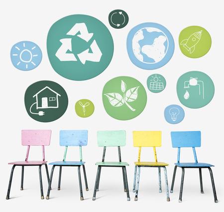 지속 가능성 생태 환경 보존 개념