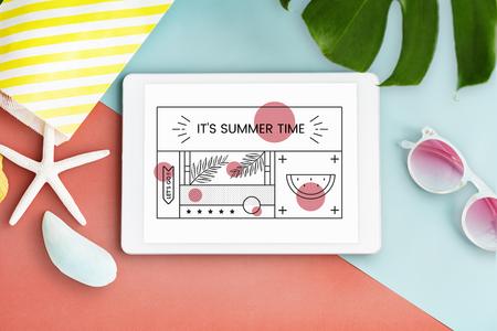 bonne aventure: Plaisir Holiday Vacation Chill Concept Banque d'images