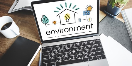 business ethics: Environment Sustainability Eco Friendly Concept