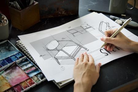 Braunstorming Teamwork sharing Sketch Design