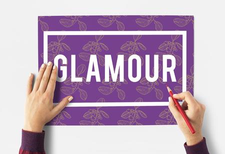 Classy Elegance Elite Glamour Grand Stock Photo