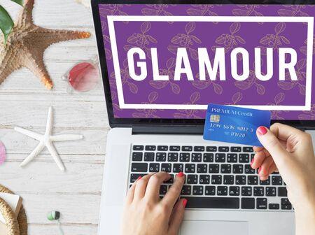 Classy Elegance Elite Glamour Grand Stok Fotoğraf