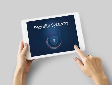 Data protection digital electronic privacy 版權商用圖片