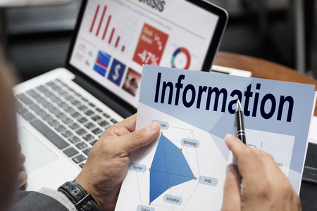Information Performance Business Intelligence Communication Banco de Imagens