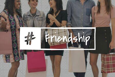 Friendship Buddy Companion Together Icon Stock Photo