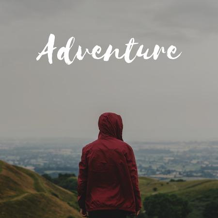 모험은 어딘가에 평온을 탐험해라.