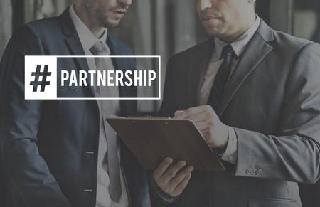 거래 협상 Paartnership 기업 비즈니스