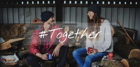 Affection Happiness Love Romance Together Фото со стока