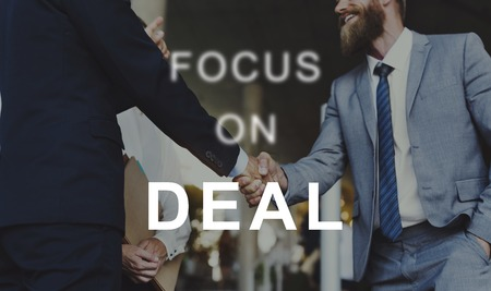 Deal Contract Cooperation Connection Distribute Stock Photo