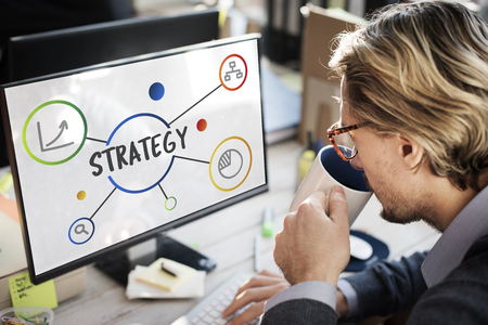 Business Plan Strategy Operation Process Concept Stock Photo