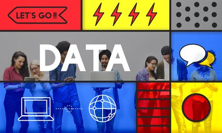 Data Information Share Knowledge Concept