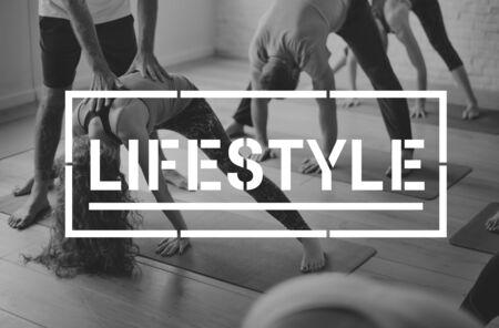 People Lifestyle Exercise Activity Word 版權商用圖片